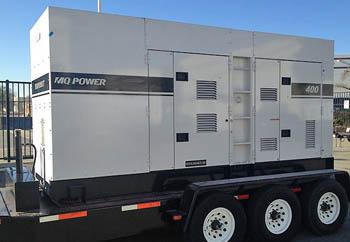 Emergency Rental Diesel Generator Service